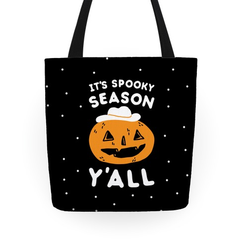 It's Spooky Season Y'all Tote