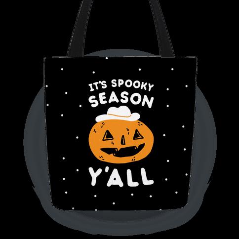 It's Spooky Season Y'all Tote