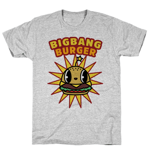 Big Bang Burger Mens T-Shirt