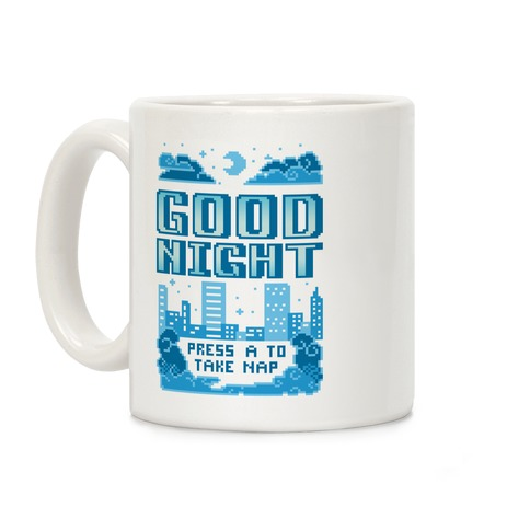 Good Night Game Over Screen Coffee Mug
