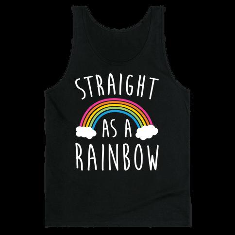 Straight As A Rainbow Tank Top