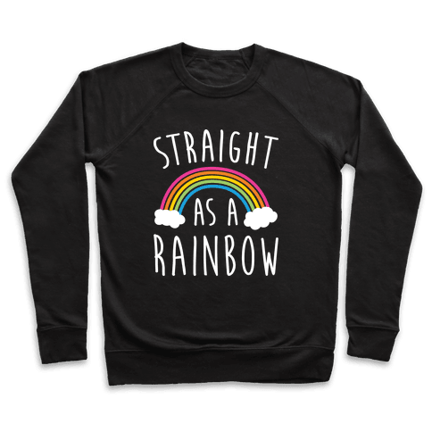 Straight As A Rainbow Pullover