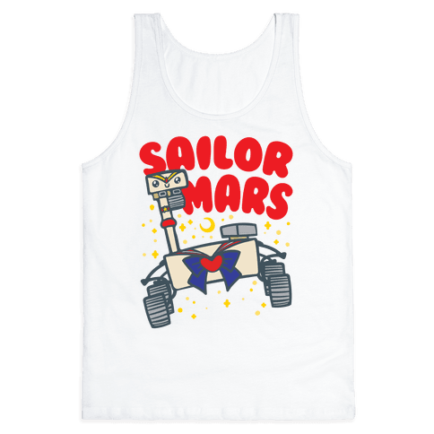 Sailor Mars Perseverance Parody Tank Top