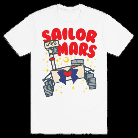Sailor Mars Perseverance Parody Mens/Unisex T-Shirt