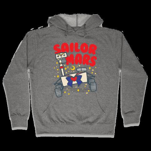 Sailor Mars Perseverance Parody Hooded Sweatshirt