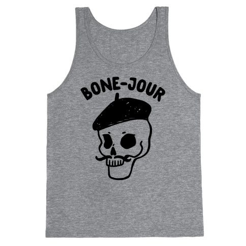 Bone-Jour Tank Top