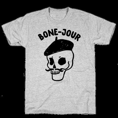 Bone-Jour Mens T-Shirt