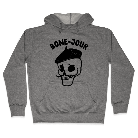 Bone-Jour Hooded Sweatshirt