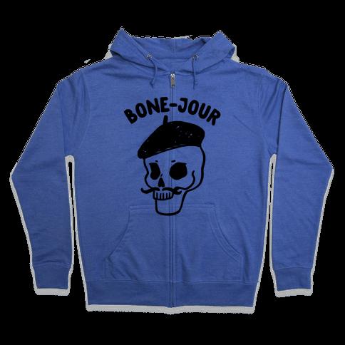 Bone-Jour Zip Hoodie