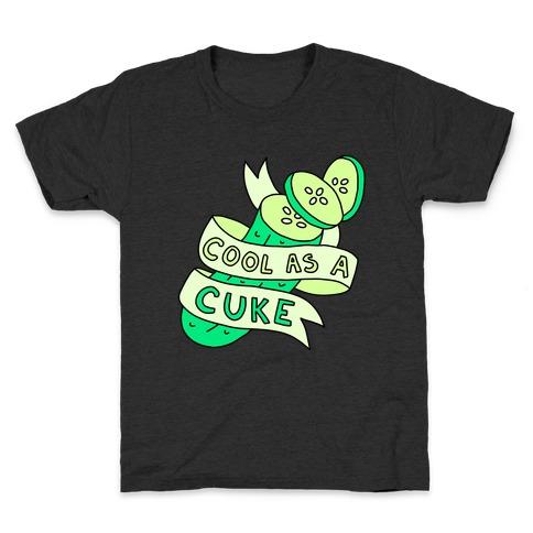 Cool As A Cuke Kids T-Shirt