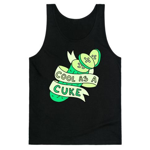 Cool As A Cuke Tank Top