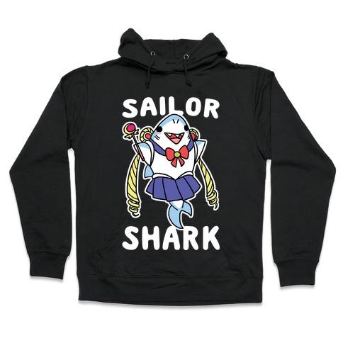 Sailor Shark Hooded Sweatshirt