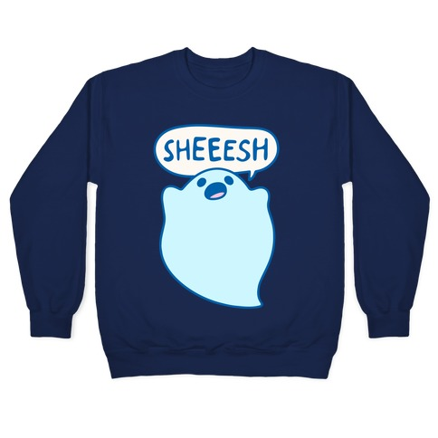 Sheesh Ghost Parody Pullover