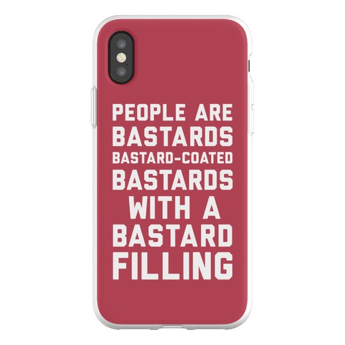 People Are Bastards Phone Flexi-Case