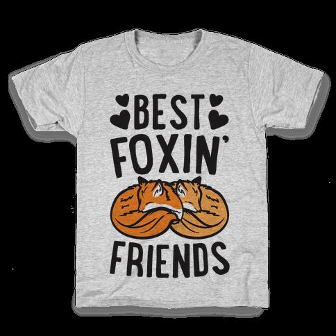 Best Foxin' Friends Kids T-Shirt