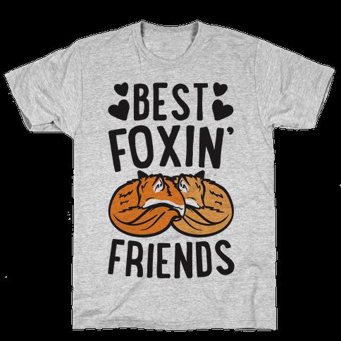 Best Foxin' Friends Mens T-Shirt