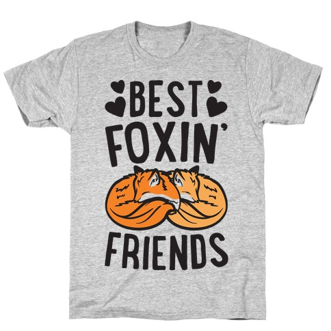 Best Foxin' Friends Mens T-Shirt