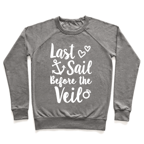 Last Sail Before The Veil Pullover