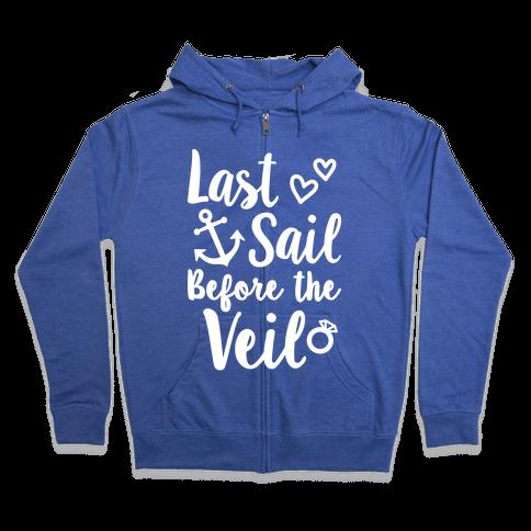 Last Sail Before The Veil Zip Hoodie