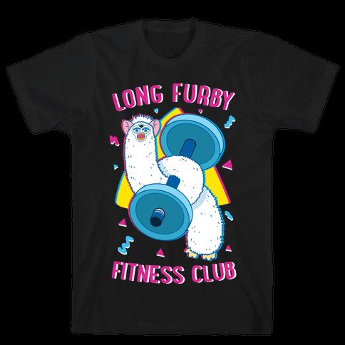 Long Furby Fitness Club Mens/Unisex T-Shirt