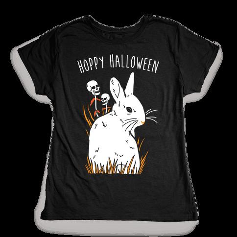 Hoppy Halloween Womens T-Shirt