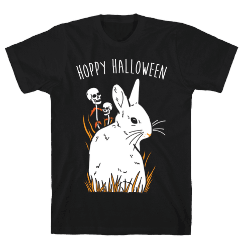Hoppy Halloween Mens T-Shirt