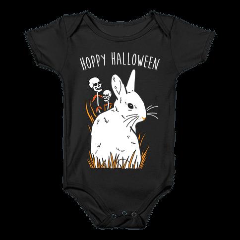 Hoppy Halloween Baby Onesy