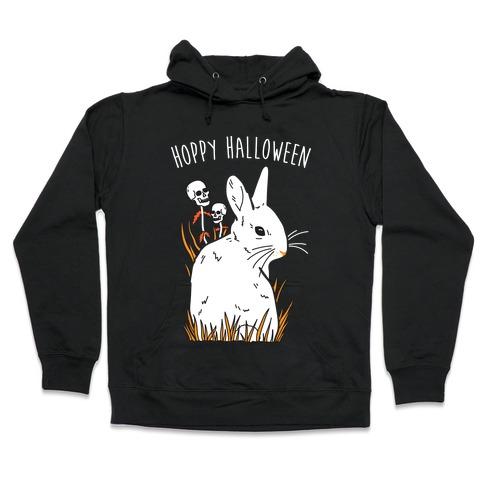 Hoppy Halloween Hooded Sweatshirt