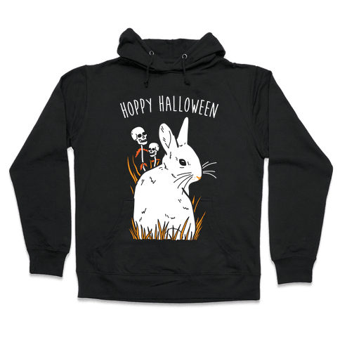 Hoppy Halloween Hooded Sweatshirt