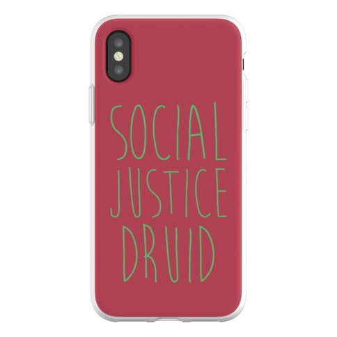 Social Justice Druid Phone Flexi-Case
