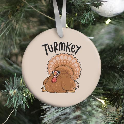 Turmkey Derpy Turkey Ornament
