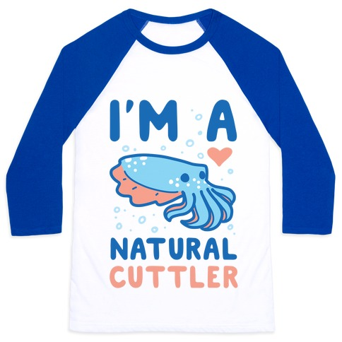 I'm a Natural Cuttler Baseball Tee