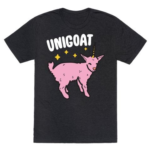 Unigoat Goat Unicorn T-Shirt