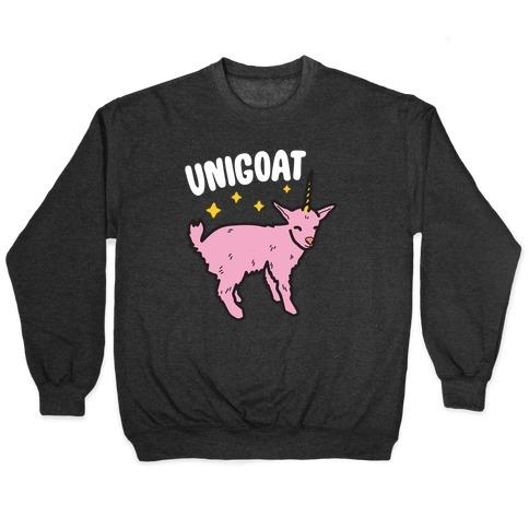 Unigoat Goat Unicorn Pullover