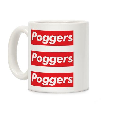 Poggers Supreme Parody Coffee Mug