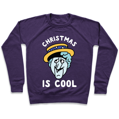 Christmas is Cool Snow Miser Pullover