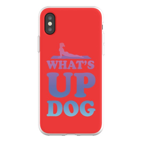 What's Up Dog Phone Flexi-Case