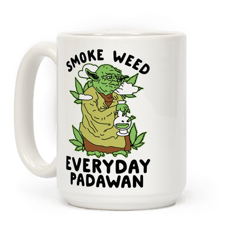 Smoke Weed Everyday Padawan Coffee Mug
