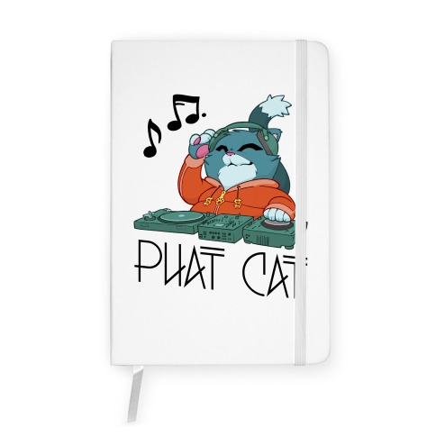 Phat Cat Notebook