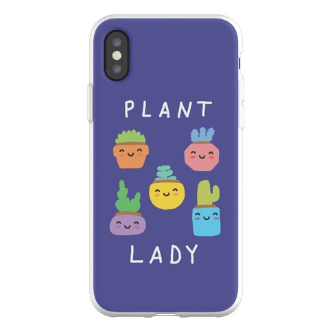 Plant Lady Phone Flexi-Case