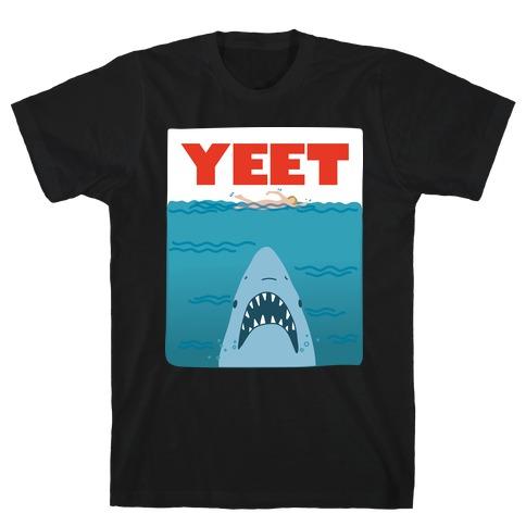 Yeet Jaws Parody T-Shirt