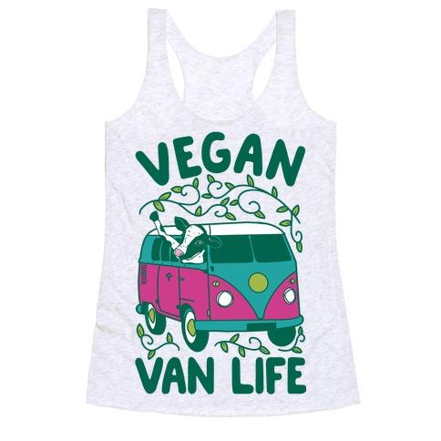 Vegan Van Life Racerback Tank Top