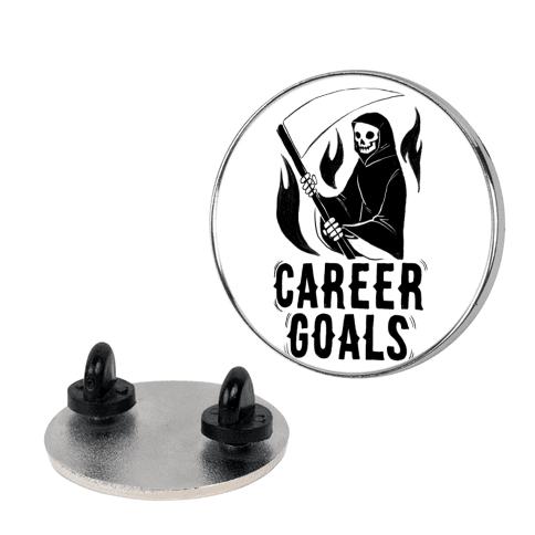Career Goals - Grim Reaper pin