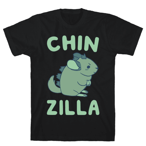 Chin-Zilla Mens T-Shirt