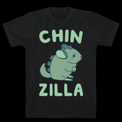 Chin-Zilla Mens T-Shirt