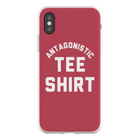 Antagonistic Tee Shirt Phone Flexi-Case