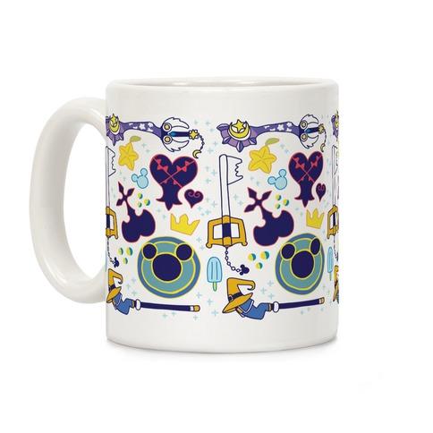 Kingdom Hearts pattern Coffee Mug