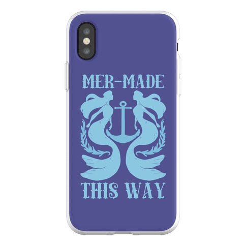 Mer-Made This Way Phone Flexi-Case