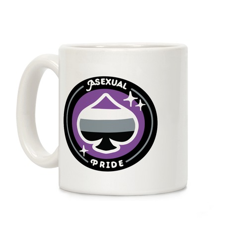 Asexual Pride Patch Coffee Mug