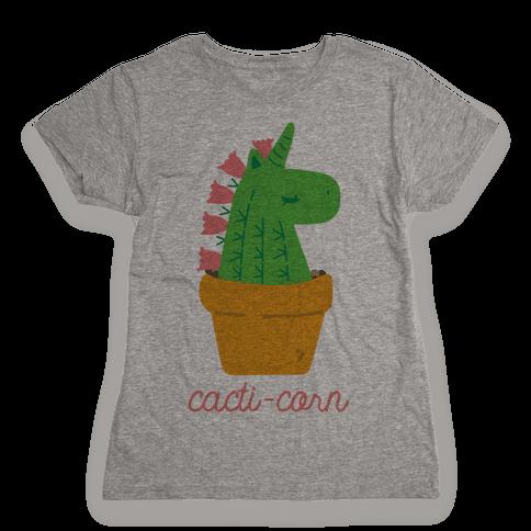 Cacti-corn Womens T-Shirt